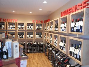 Selection of the wine shop La Maison du Vin